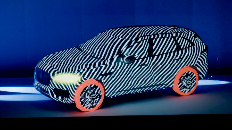 Jaguar F-Pace video mapping
